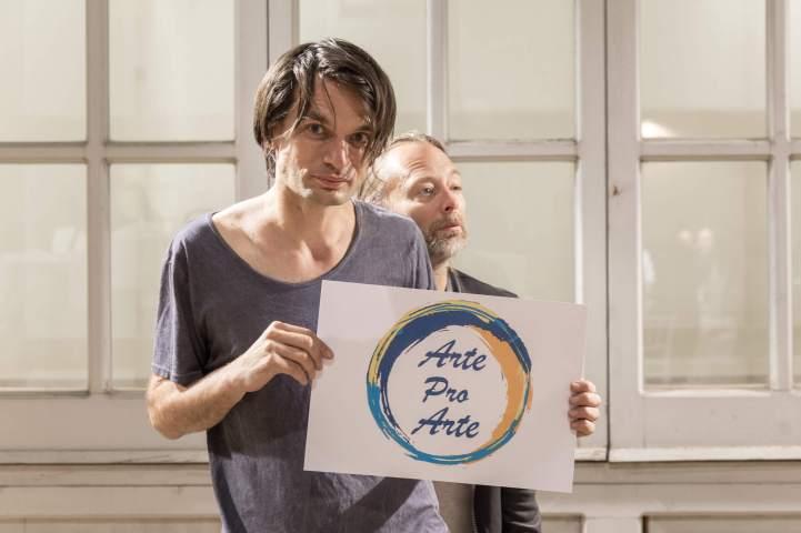 Jonny Greenwood e Thom Yorke
