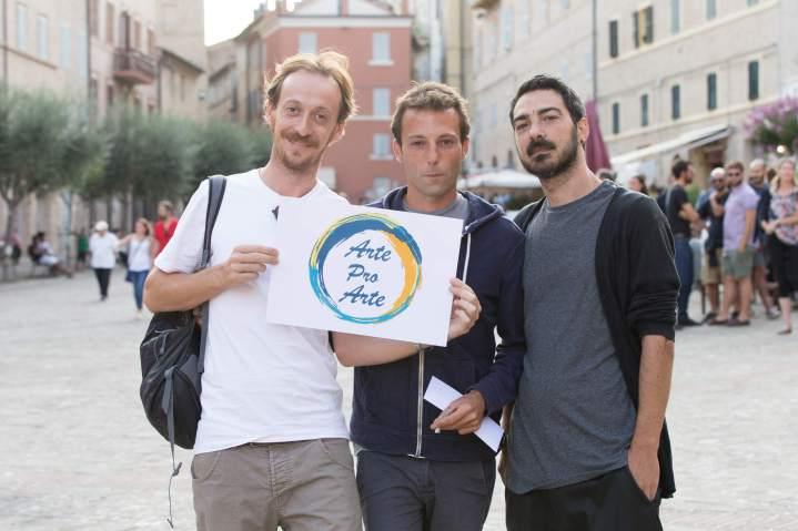 Niccolò Senni, Davide D'Onofrio e Andrea Angelini