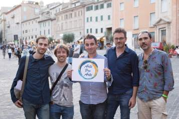 Vincenzo Starace, Cristiano Giuseppetti, Federico Bracalente, Aldo Campagnari e Daniele Di Bonaventura